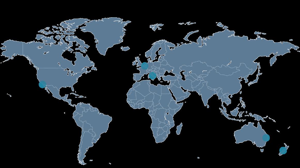 Metagenics wereldwijd